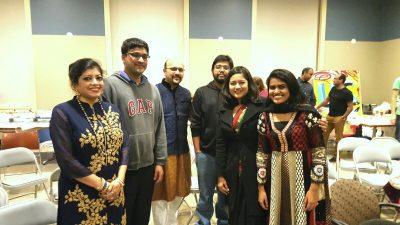 Uconn-Diwali group photo